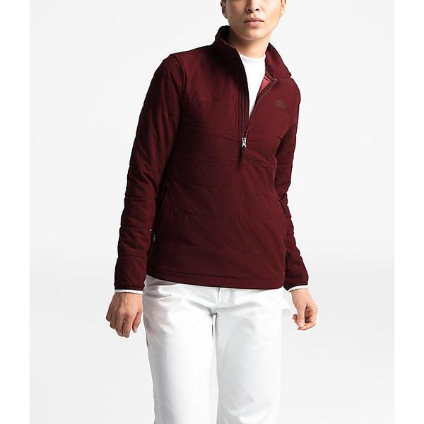 【クーポンで最大2000円OFF】(取寄)ノースフェイス レディース マウンテン スウェットシャツ 3.0 プルオーバー The North Face Women's Mountain Sweatshirt 3.0 Pullover Deep Garnet Red / Picante Red