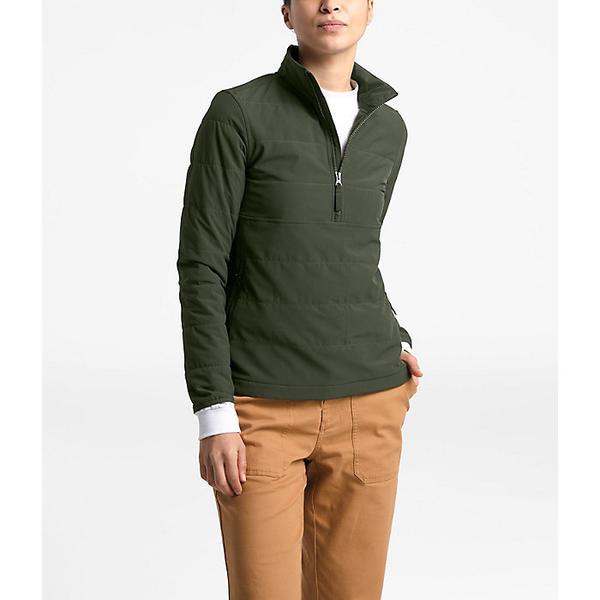 【エントリーでポイント5倍】(取寄)ノースフェイス レディース マウンテン スウェットシャツ 3.0 プルオーバー The North Face Women's Mountain Sweatshirt 3.0 Pullover New Taupe Green