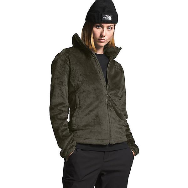 (取寄)ノースフェイス レディース オシト ハイブリット フル ジップ ジャケット The North Face Women's Osito Hybrid Full Zip Jacket New Taupe Green