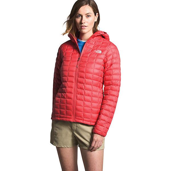 (取寄)ノースフェイス レディース サーモボール エコ フーディ The North Face Women's ThermoBall Eco Hoodie Cayenne Red Matte