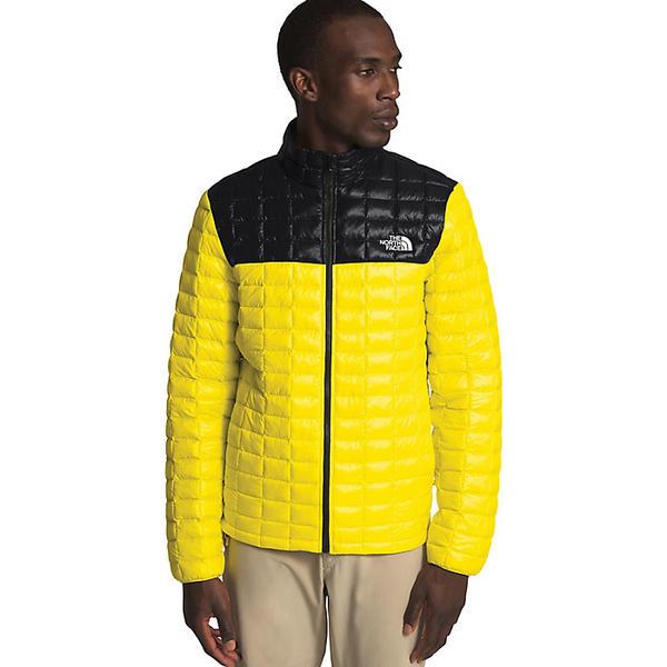 (取寄)ノースフェイス メンズ サーモボール エコ ジャケット The North Face Men's ThermoBall Eco Jacket TNF Lemon / TNF Black
