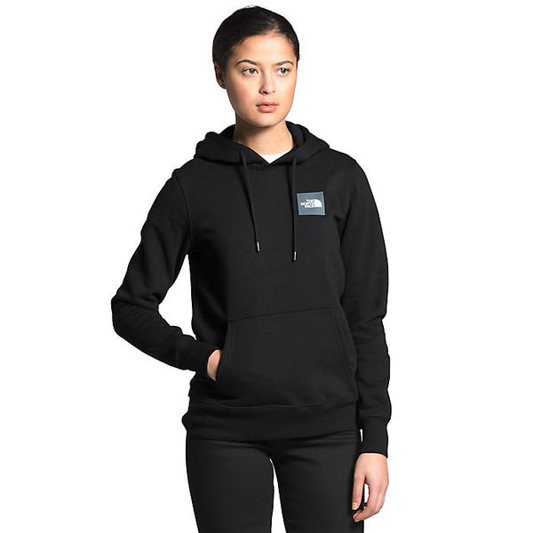 (取寄)ノースフェイス レディース ボックス プルオーバー フーディ The North Face Women's Box Pullover Hoodie TNF Black