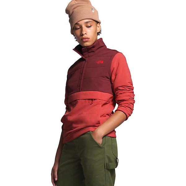 (取寄)ノースフェイス レディース マウンテン スウェットシャツ プルオーバー 3.0 アノラック The North Face Women's Mountain Sweatshirt Pullover 3.0 Anorak Barolo Red / Sunbaked Red