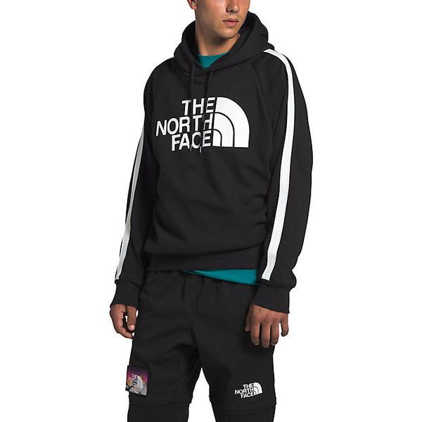 (取寄)ノースフェイス メンズ ストライプド アンビション プルオーバー フーディ The North Face Men's Striped Ambition Pullover Hoodie TNF Black / TNF White