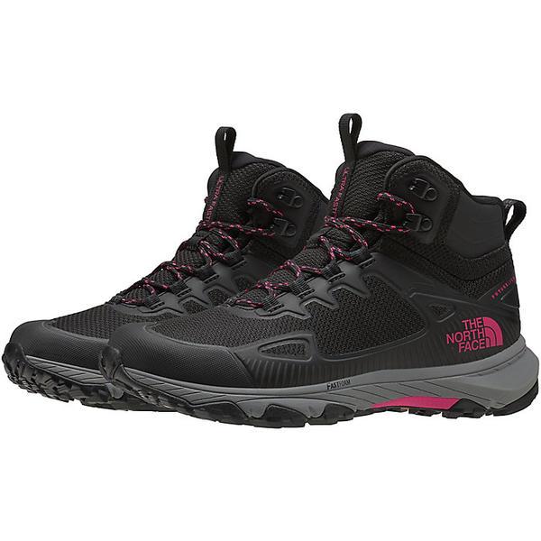 【クーポンで最大2000円OFF】(取寄)ノースフェイス レディース ウルトラ ファストパック IV ミッド フューチャーライト シューズ The North Face Women's Ultra Fastpack IV Mid FUTURELIGHT Shoe TNF Black / Mr. Pink