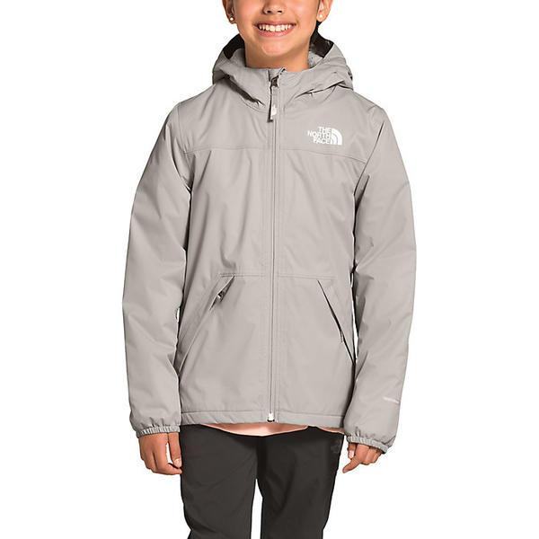 (取寄)ノースフェイス ガールズ ウォーム ストーム レイン ジャケット The North Face Girls' Warm Storm Rain Jacket Dove Grey