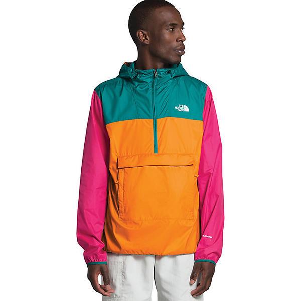 (取寄)ノースフェイス メンズ ジャケット ファノラック The North Face Men's Fanorak Flame Orange / Fanfare Green / Mr. Pink