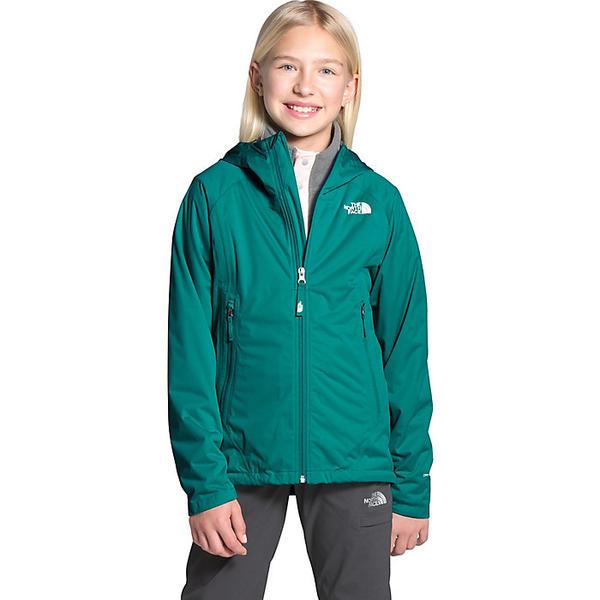 (取寄)ノースフェイス ガールズ オールプルーフ ストレッチ ジャケット The North Face Girls' Allproof Stretch Jacket Jaiden Green
