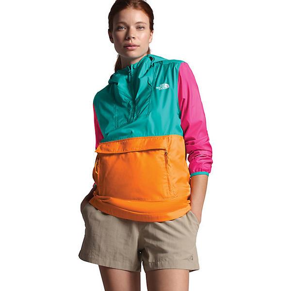 (取寄)ノースフェイス レディース ファノラック 2.0 ジャケット The North Face Women's Fanorak 2.0 Jacket Flame Orange / Jaiden Green / Mr. Pink