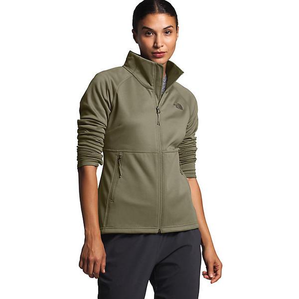 (取寄)ノースフェイス レディース キャニオンランズ フル ジップ ジャケット The North Face Women's Canyonlands Full Zip Jacket Burnt Olive Green