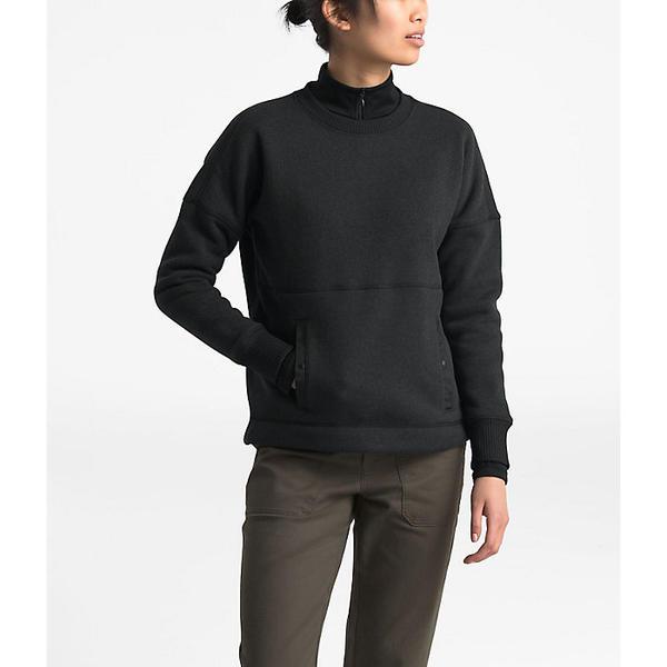 (取寄)ノースフェイス レディース クレセント セーター The North Face Women's Crescent Sweater TNF Black Heather