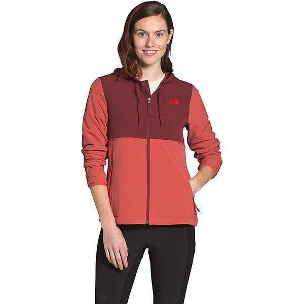 (取寄)ノースフェイス レディース マウンテン スウェットシャツ 3.0 フーディ The North Face Women's Mountain Sweatshirt 3.0 Hoodie Barolo Red / Sunbaked Red