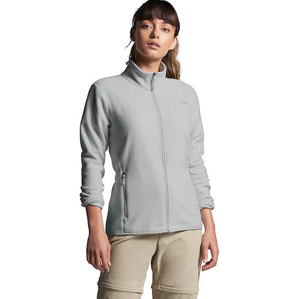 (取寄)ノースフェイス レディース TKA グレイシャー フル ジップ ジャケット The North Face Women's TKA Glacier Full Zip Jacket Tin Grey