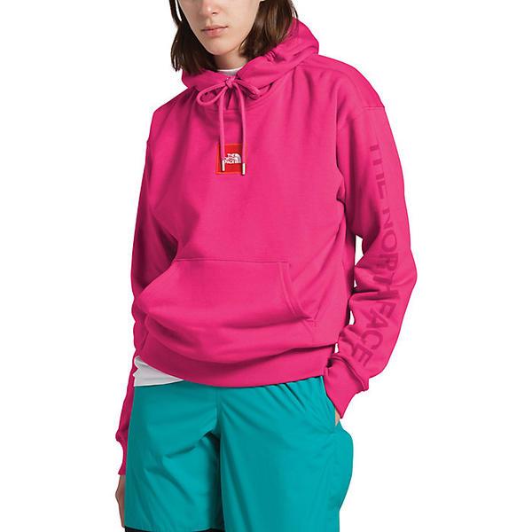 (取寄)ノースフェイス レディース クロップド ボックス ドロップ プルオーバー フーディ The North Face Women's Cropped Box Drop Pullover Hoodie Mr. Pink