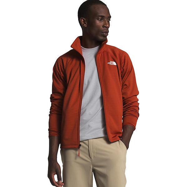 (取寄)ノースフェイス メンズ エコー ロック フル ジップ ジャケット The North Face Men's Echo Rock Full Zip Jacket Pompeian Red