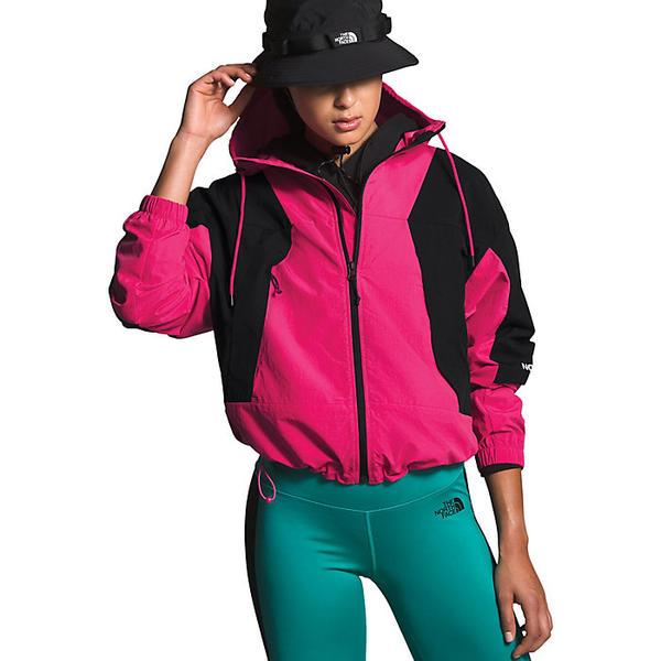 (取寄)ノースフェイス レディース ペリル ウィンド ジャケット The North Face Women's Peril Wind Jacket Mr. Pink / TNF Black