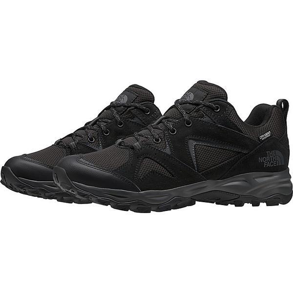 (取寄)ノースフェイス メンズ トレイル エッジ ウォータープルーフ シューズ The North Face Men's Trail Edge Waterproof Shoe TNF Black / Dark Shadow Grey