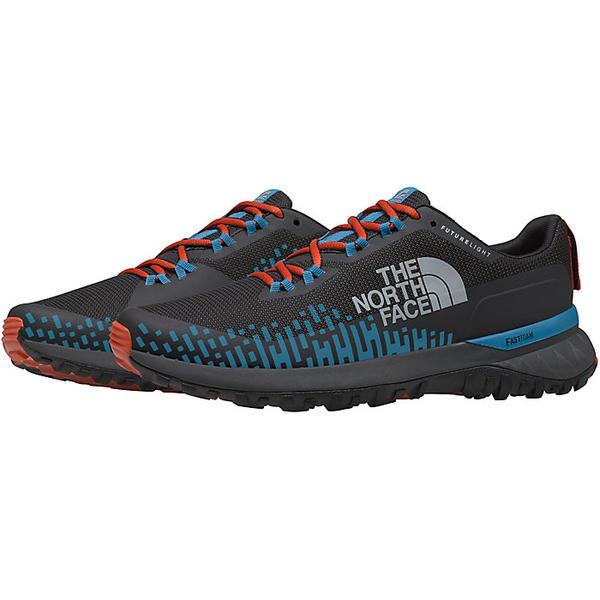 (取寄)ノースフェイス メンズ ウルトラ トラクション フューチャーライト シューズ The North Face Men's Ultra Traction FUTURELIGHT Shoe TNF Black / Baja Blue