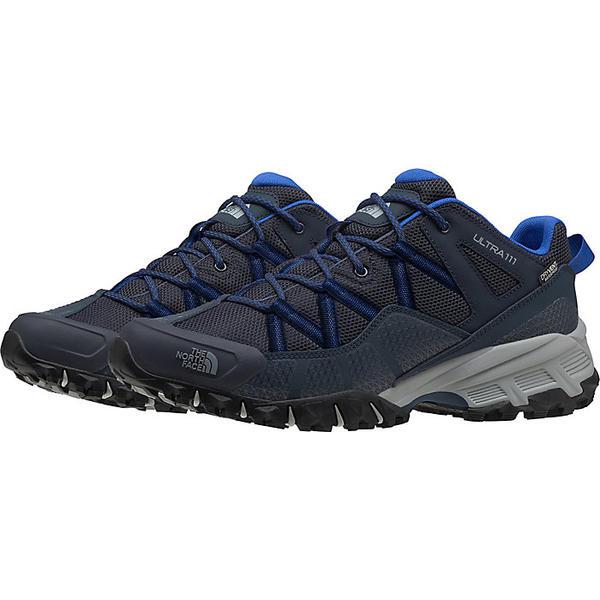 (取寄)ノースフェイス メンズ ウルトラ 111 ウォータープルーフ シューズ The North Face Men's Ultra 111 Waterproof Shoe Urban Navy / TNF Blue