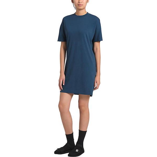 【エントリーでポイント5倍】(取寄)ノースフェイス レディース ウッドサイド ヘンプ ティー ドレス The North Face Women's Woodside Hemp Tee Dress Shady Blue
