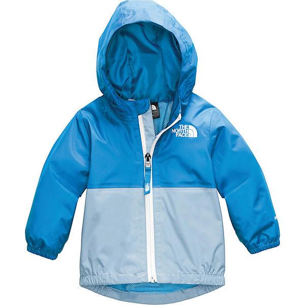 (取寄)ノースフェイス インファント ジップライン レイン ジャケット The North Face Infant Zipline Rain Jacket Clear Lake Blue