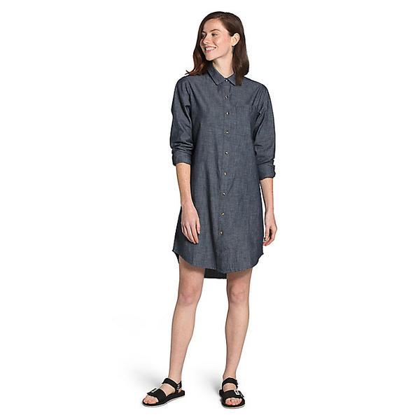 (取寄)ノースフェイス レディース シャンブレー ドレス The North Face Women's Chambray Dress Dark Indigo Chambray