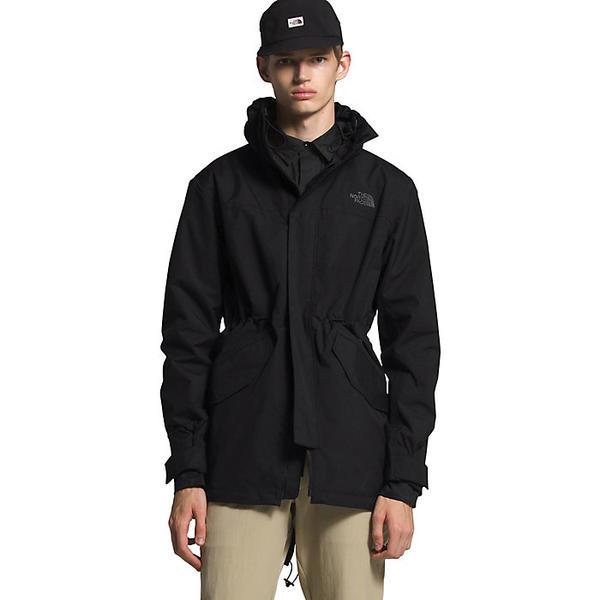 (取寄)ノースフェイス メンズ シティ ブリーズ レイン パーカー The North Face Men's City Breeze Rain Parka TNF Black