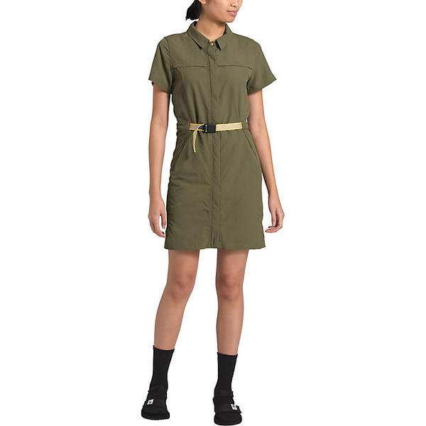 (取寄)ノースフェイス レディース クラス V ドレス The North Face Women's Class V Dress Burnt Olive Green