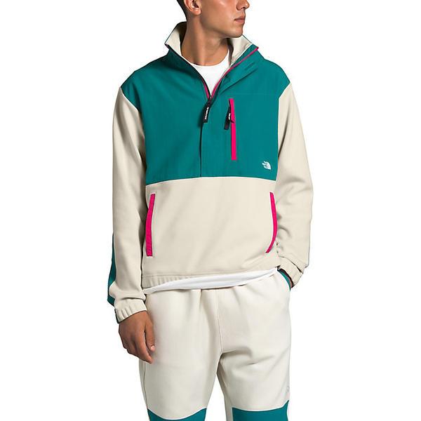 (取寄)ノースフェイス メンズ グラフィック コレクション プルオーバー ジャケット The North Face Men's Graphic Collection Pullover Jacket Vintage White / Fanfare Green / Mr. Pink