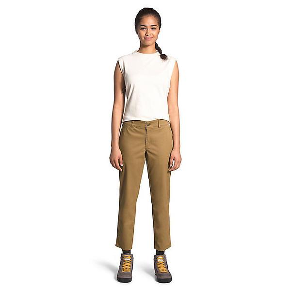【エントリーでポイント5倍】(取寄)ノースフェイス レディース モーション XD アンクル チノ パンツ The North Face Women's Motion XD Ankle Chino Pant British Khaki