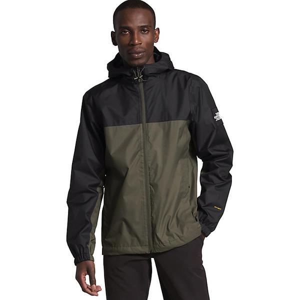 【クーポンで最大2000円OFF】(取寄)ノースフェイス メンズ マウンテン Q ジャケット The North Face Men's Mountain Q Jacket New Taupe Green / TNF Black