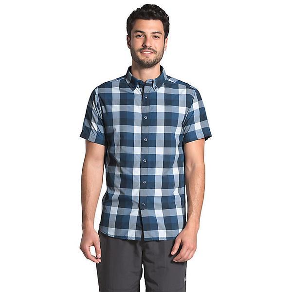 (取寄)ノースフェイス メンズ モナドノック SS 2 シャツ The North Face Men's Monanock SS II Shirt Shady Blue Timber Plaid