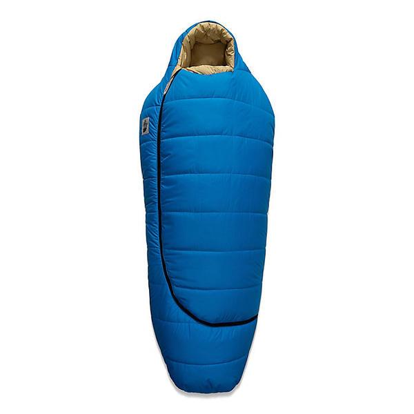 (取寄)ノースフェイス ユース エコ トレイル シンセティック 20 スリーピング バッグ The North Face Youth Eco Trail Synthetic 20 Sleeping Bag Clear Lake Blue-Hemp