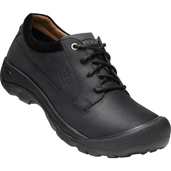 (取寄)キーン メンズ オースティン カジュアル ウォータープルーフ シュー Keen Men's Austin Casual Waterproof Shoe Black / Raven