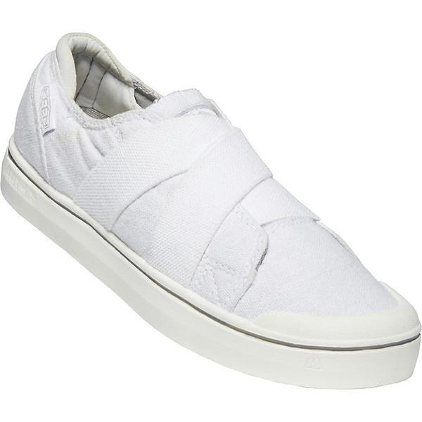 (取寄)キーン レディース エルザ IV ゴア スリップ オン シュー Keen Women's Elsa IV Gore Slip On Shoe White / White