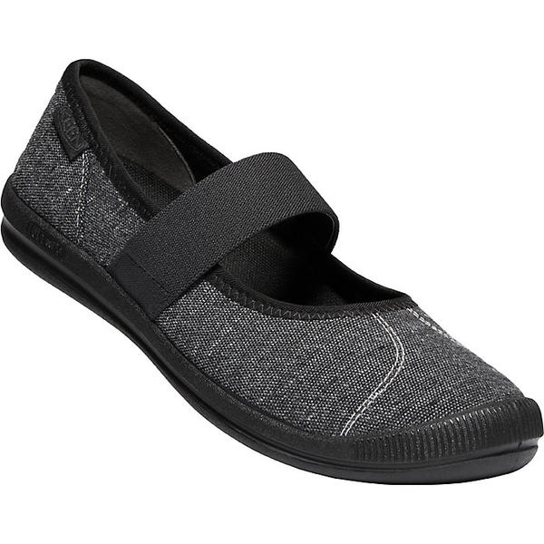 (取寄)キーン レディース ローレライ MJ キャンバス シュー Keen Women's Lorelai MJ Canvas Shoe Black