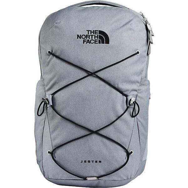【クーポンで最大2000円OFF】(取寄)ノースフェイス ジェスター バックパック The North Face Jester Backpack Mid Grey Dark Heather / TNF Black