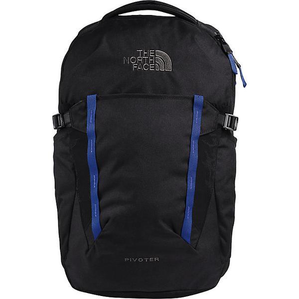 【クーポンで最大2000円OFF】(取寄)ノースフェイス ピボター バックパック The North Face Pivoter Backpack TNF Black Heather / TNF Blue