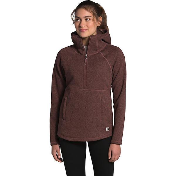 The North Face ノースフェイス ハイキング 登山 マウンテン アウトドア ウェア アウター 山ガール ファッション ブランド レディース 日本 クレセント Black 取寄 フーデット プルオーバー Hooded Pullover ビッグサイズ Heather Women's Purple Marron Crescent 売れ筋ランキング 大きいサイズ