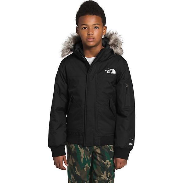 【クーポンで最大2000円OFF】(取寄)ノースフェイス ボーイズ ゴッサム ジャケット The North Face Boys' Gotham Jacket TNF Black