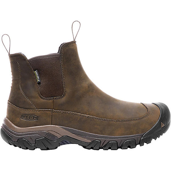 期間限定特別価格 KEEN キーン シューズ ブーツ アウトドア ブランド 国内正規品 Shoes Boots トレッキング 登山 カジュアル ストリート 大きいサイズ Earth メンズ 3 アンカレッジ Dark Boot Waterproof Men's Mulch ウォータープルーフ Anchorage 取寄 III