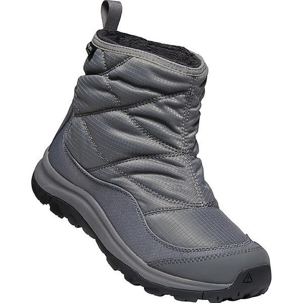 KEEN キーン シューズ ブーツ アウトドア ブランド Shoes Boots トレッキング 送料無料 激安 お買い得 キ゛フト 登山 カジュアル ストリート 新登場 大きいサイズ 取寄 Boot Terradora アンクル Ankle レディース Pull-On 2 プルオン Women's Drizzle Pewter II WP テラドーラ