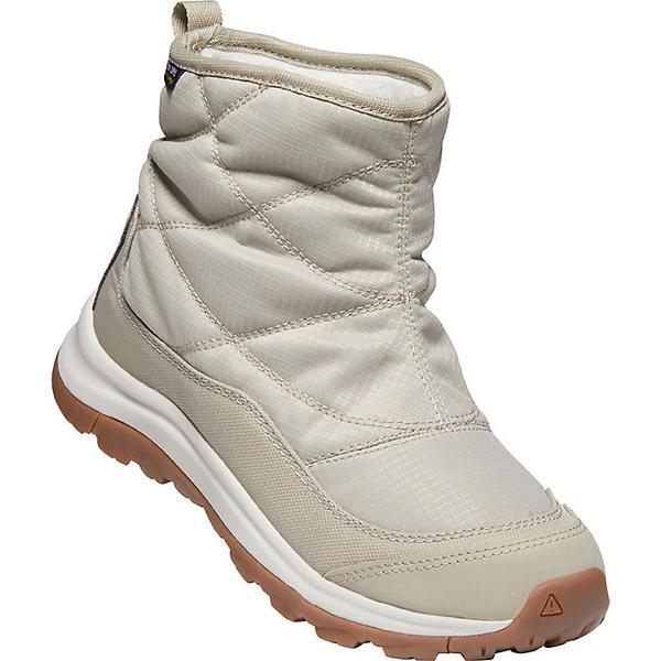 KEEN 販売 キーン シューズ ブーツ アウトドア ブランド Shoes Boots トレッキング 登山 カジュアル ストリート 大きいサイズ 取寄 レディース おすすめ Women's Terradora Pull-On Birch Boot II Ankle 2 Silver Taupe WP Plaza テラドーラ アンクル プルオン