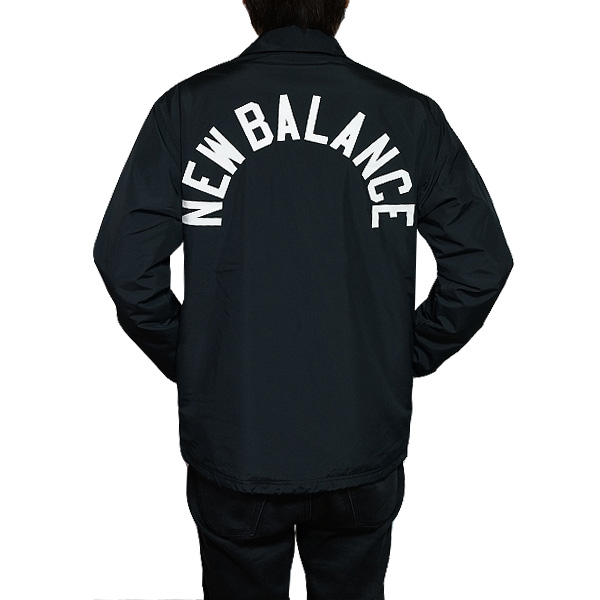 bc19bfde0eec9 New Balance men coach jacket classical music coach jacket black black New  Balance Classic Coaches Jacket ...