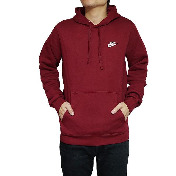 517b07d630cec NIKE parka Nike men back raising スウェットパーカークラブプルオーバーフーディレッド Nike Men s Club  Fleece Pullover Hoodie Team Red Team Red