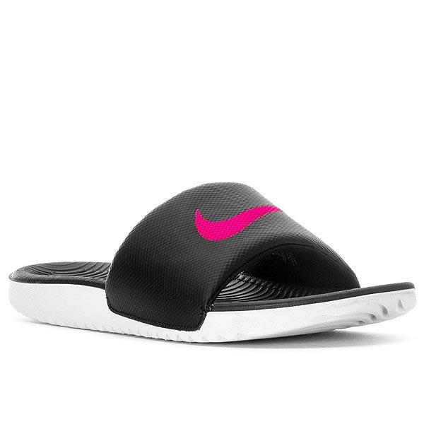 44535799d3d06c Nike Womens Sandals Kawa slide Nike Women s Kawa Slide Black Vivid Pink  02P05Nov16