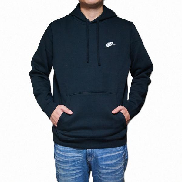 9a7ce2ab6d460 NIKE hoodies black Nike men s Hoodie black Club pullover Nike Men s NSW Club  Fleece Pullover Hoodie Black Black White 02P05Nov16