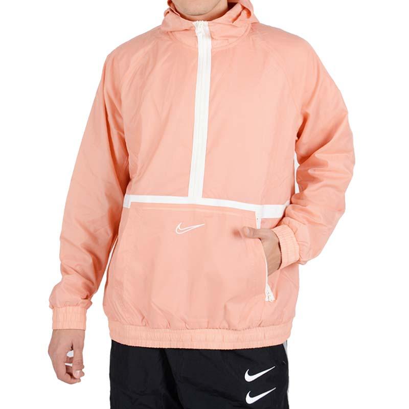 ナイキ ウインドブレーカー メンズ DNA ジャケット トレーニングジャケット スポーツ ジャージ ピンク Nike Men's DNA Jacket Pink Quartz Sail