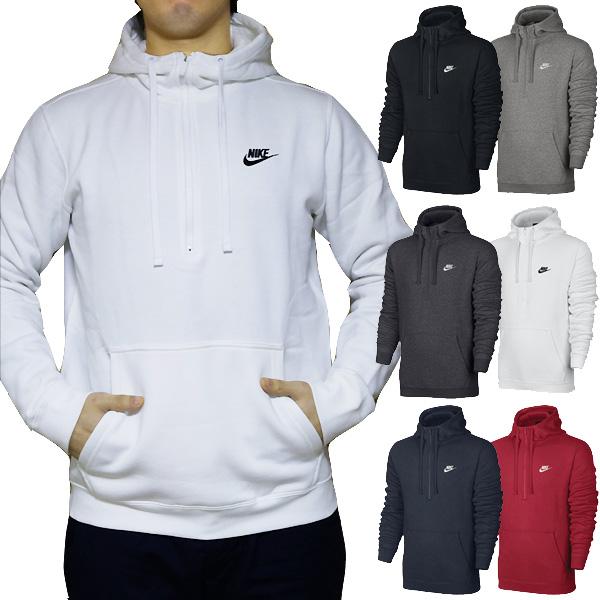 d7841247a8c7 It supports NIKE parka half zip Nike men back raising sweat shirt parka  club pullover Club Hoodie