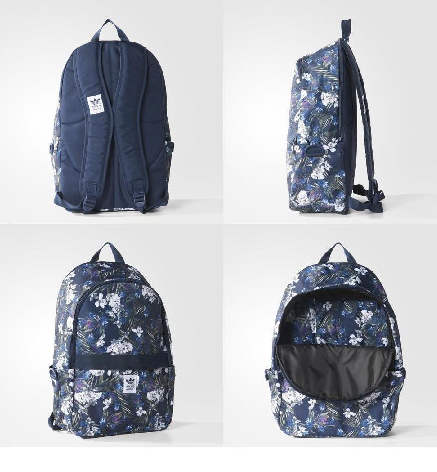 adidas flower backpack
